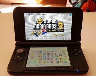 Nintendo 3DS XL + Cargador