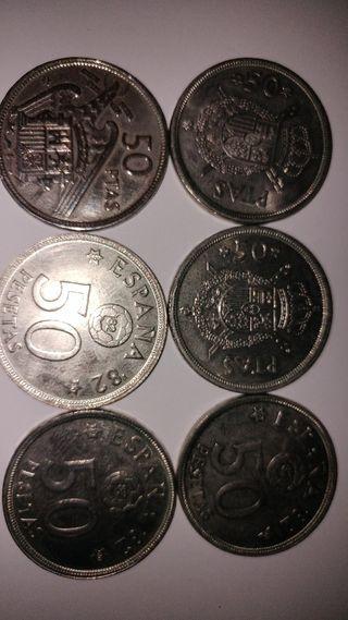Monedas 50 Pesetas
