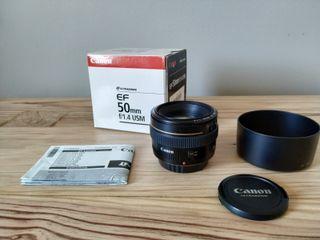 Canon EF 50mm f/1.4 USM - Objetivo para Canon