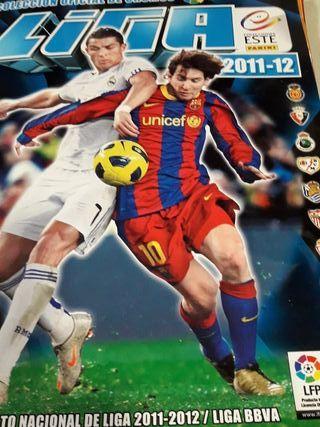 ALBUM DE CROMOS LIGA 2011-12