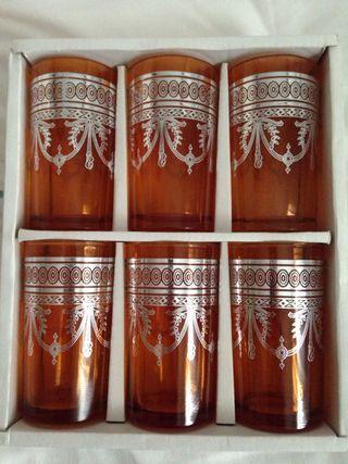 Vasos de té de Marruecos