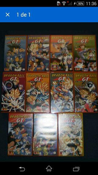 Drsgon Ball GT VHS Volumenes 1 al 11 Nuevos