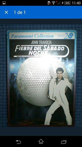 FIEBRE SABADO NOCHE STEELBOOK 2 DVD NUEVO TRAVOLTA