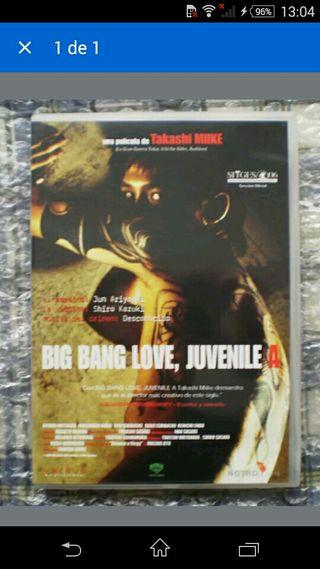 BIG BANG LOVE JUVENILE A DVD MIIKE DESCATALOGADO