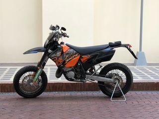 KTM EXC 200 2t - Supermotard