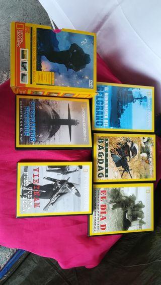 pack 5 DVD bélicos
