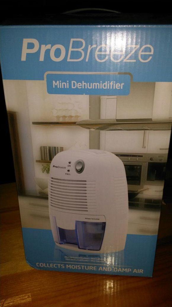 Mini deshumidificador Nuevo!!