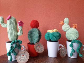 Vendo cactus crochet