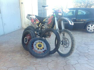 Moto 450 enduro, supermotard, motocross