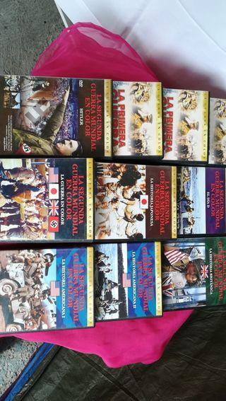10 DVD bélicos