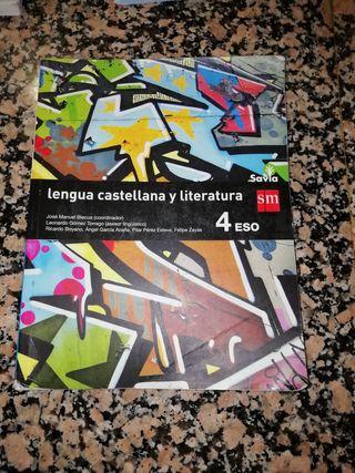 Libro de lengua castellana de cuarto de la Eso