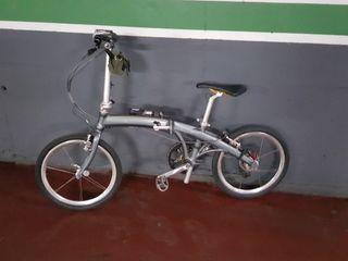 "Bicicleta plegable ""Dahon Aluminio"""