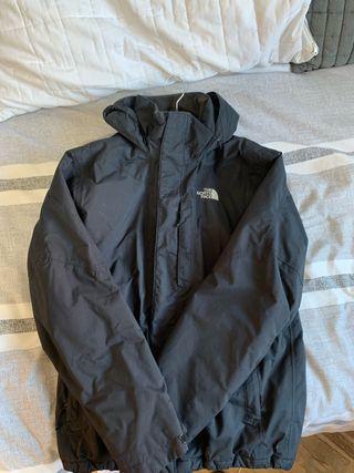 Abrigo North Face negro talla S