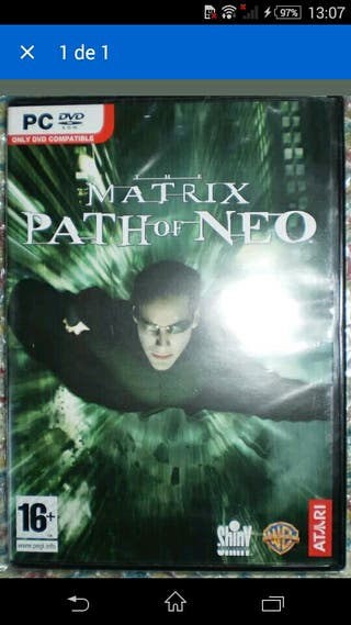 MATRIX PATH OF NEO PC DVD NUEVO PERRY WACHOWSKI