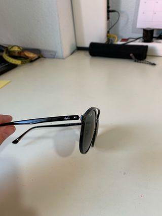 Gafas Ray Ban negras + funda
