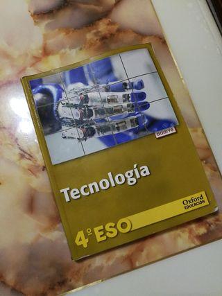 Libro Tecnología cuarto de la ESO
