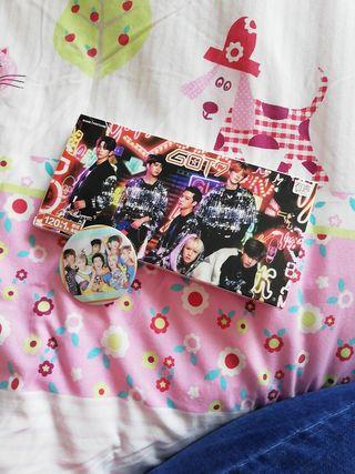 Postcards Got7 + Póster + Pin (chapa)