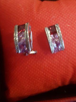Pendientes Arcoiris multicolores