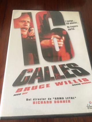 PELICULA DVD 16 CALLES