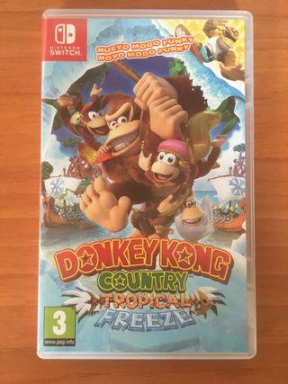 Donkey kong Tropical Freezee Nintendo Switch