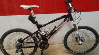 bicicleta montaña mondraker de aluminio