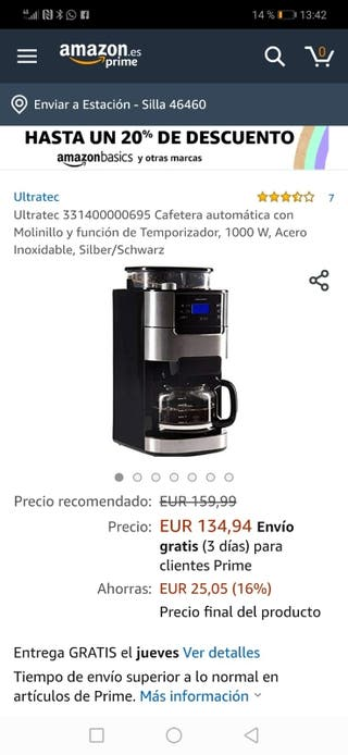 cafetera ultratec