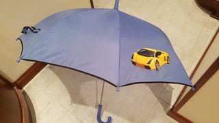 paraguas niño de coches