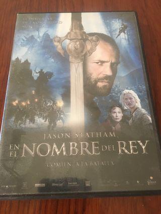 PElICULA DVD EN EL NOMBRE DEL REY