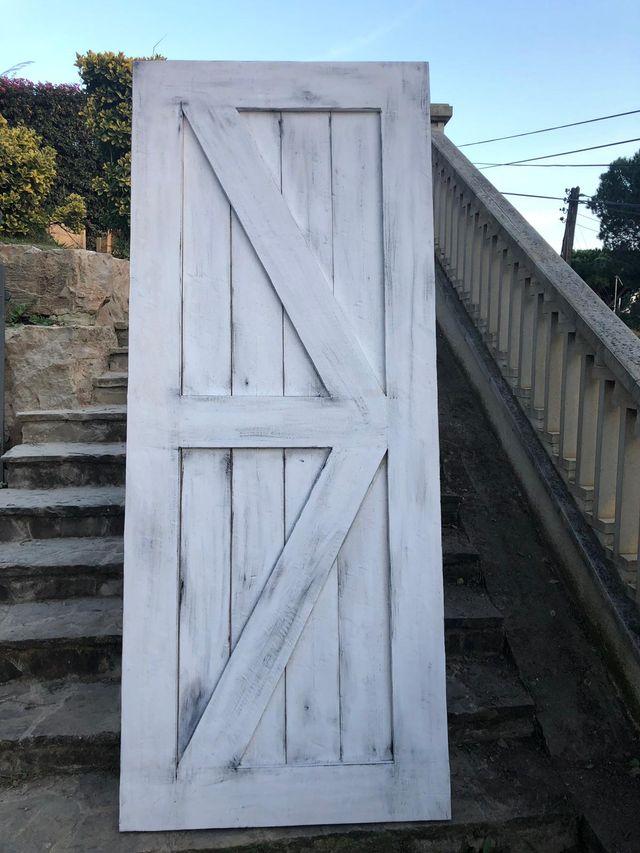Puertas correderas rústicas a medida