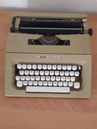 Máquina se escribir olivetti