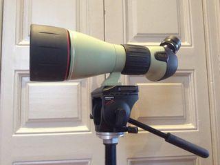 Telescopio terrestre Nikon ED 82 A