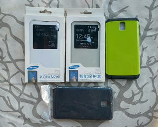 Lote 4 fundas Samsung Galaxy Note 3