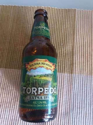 ampolla cervesa Torpedo buida