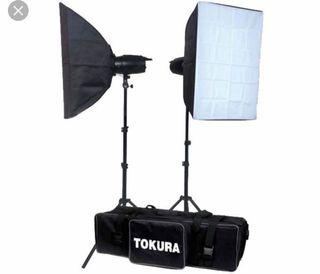 KIT ILUMINACION ESTUDIO TOKURA DX400 KOALA