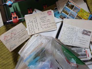 postales y sellos muy antiguas