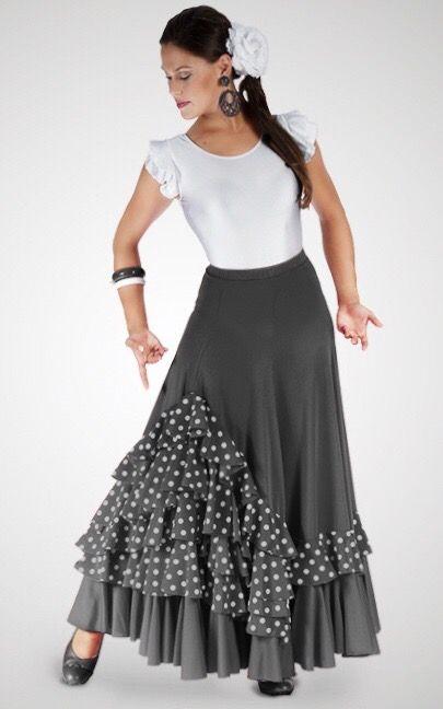 f870e829e Falda de ensayo para bailar sevillanas de segunda mano en Sabadell ...