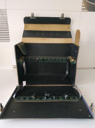 maleta herramientas cuero