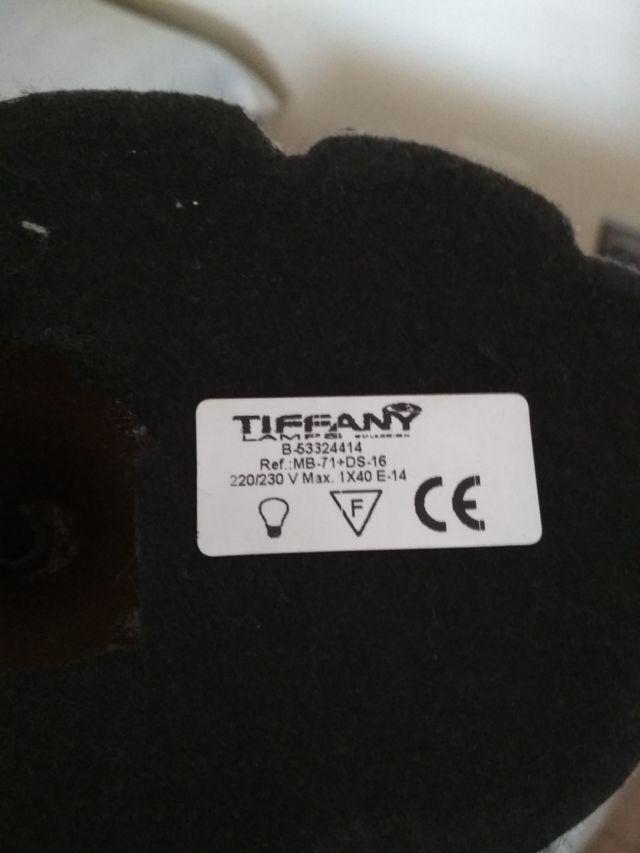Lampara sobremesa Tiffany
