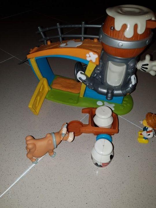 Granja de Mickey Mouse casi sin uso