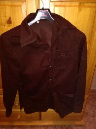 chaqueta señora 42color vino