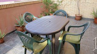Mesa jardín + 5 sillas