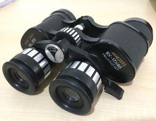 Prismaticos con zoom 8-17x40