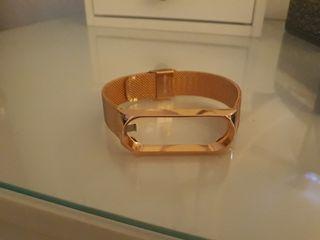 pulsera oro rosado reloj my band1