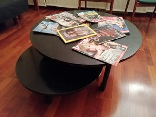 mesa salón negra
