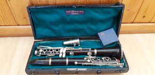 Clarinete madera Bb profesional Martin Freres
