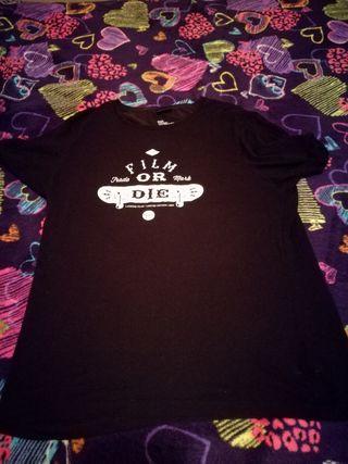 camisa negra la l