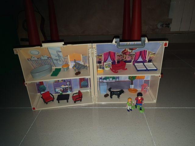 Maletín casa de campo de Playmobil