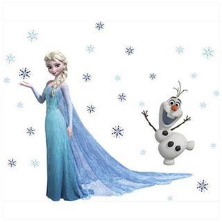 Vinilo nuevo ELSA y OLAF
