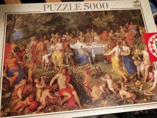 Puzzle 5000 piezas