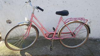 Bicicleta de paseo grande BH antigua